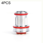 4 PCS Uwell Crown IV Replacement Dual SS904L Coil 0.4ohm, TPD UK Edition