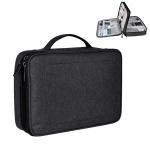 Large Nylon Waterproof Box Type Multi-function Storage Bag for iPad, Size: 30 X 22 X 8cm (Black)