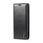 CaseMe-003 Series Horizontal Flip PC + PU Leather Case for Sony Xperia XZ3, with Magnetic Buckle & Holder & Card Slot & Wallet (Black)
