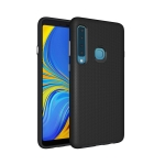 Anti-slip Armor Texture TPU + PC Case For Samsung Galaxy A9 (2018) (Black)