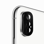 Enkay Hat-prince Rear Camera Lens Metal Protection Cover for iPhone XS (Black)