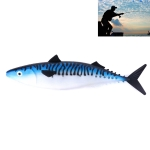 HENGJIA SO302 35cm 110g Ocean Boat Fishing Tuna Lure Spanish Large Mackerel Game Rubber Soft Coat Fishing Tackle (A)