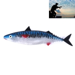 HENGJIA SO301 29cm 65g Ocean Boat Fishing Tuna Lure 28cm Soft Fish Long Shot Fishing Gear Lure Empty Stomach Bait  Fishing Tackle (A)