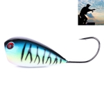 HENGJIA PO036 8cm/13g Big Mouth Single Hook Hitting Water Wave Hard Bait Lure Outdoor Fishing Gear Lure Fishing Bait Fishing Tackle (PO036-1)