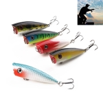 HENGJIA PO035 6cm/6g 5 PCS Simulation Hard Baits Fishing Lures Set Tackle Baits Fit Saltwater and Freshwater