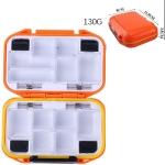 HENGJIA qt020 Waterproof Multifunction Fishing Tool Gear Storage Hooks and Fishing Bait Box , small: 11.5 x 8 x 3.5cm