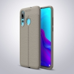 Litchi Texture TPU Shockproof Case for ASUS ZenFone Max (M2) (Gray)