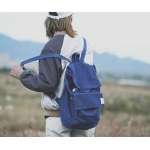 Leisure Lightweight Soft Backpack Travel Mountaineering Bag (Dark Blue)