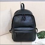 Leisure Fashion PU Double-shoulder Bag Handbag (Black)