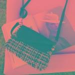Leisure Fashion PU Leather Shoulder Bag Messenger Bag (Black)