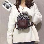 Leisure Fashion Double / Single Shoulder Bag Messenger Bag (Black)