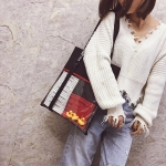 Leisure Fashion Canvas Shoulder Bag Handbag