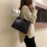 Leisure Fashion Chain Slant Shoulder Bag(Colorful)