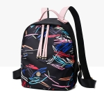 Leisure Fashion Waterproof Oxford Cloth Double Shoulders Bag (Colorful)