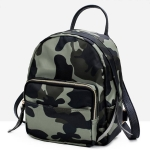 Leisure Fashion Waterproof Oxford Cloth Double Shoulders Bag (Camouflage)