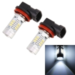 2 PCS H8/H11 10.5W 780LM 6000K 21 SMD 2835 LEDs Car Fog Lights DC 12~24V(White Light)