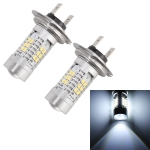 2 PCS MZ-H7-2835 10.5W 780LM 6500K 21 SMD 2835 LEDs Car DRL Headlights, DC 12~24V(White Light)