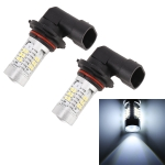 2 PCS MZ-9006-2835 780LM 6000K 10.5W 21 SMD 2835  LEDs Car Fog Lights, DC 12~24V(White Light)