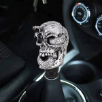 LX Tandy Creative Universal Car Snake Ghost Shaped  Shifter Cover Manual Automatic Gear Shift Knob