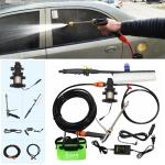 220V Portable Single Pump + Power Supply + Brush High Pressure Outdoor Car Washing Machine Vehicle Washing Tools, Upgraded Version