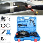 220V Portable Double Pump + Power Supply High Pressure Outdoor Car Washing Machine Vehicle Washing Tools, with Storage Box