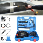 220V Portable Double Pump + Power Supply + Brush High Pressure Outdoor Car Washing Machine Vehicle Washing Tools, with Storage Box