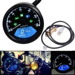 Motorcycle LCD Digital Tachometer Speedometer Odometer Gauge