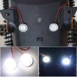 Car / Motorcycle 12 – 85V 1W Strobe Eagle Eye Light (White Light)