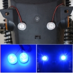 Car / Motorcycle 12 – 85V 1W Strobe Eagle Eye Light (Blue Light)