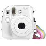 Protective Crystal Shell Case with Strap for FUJIFILM instax mini 9 / mini 8+ / mini 8(Transparent)