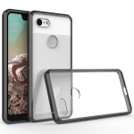 Scratchproof TPU + Acrylic Protective Case for Google Pixel 3 XL (Black)
