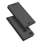 DUX DUCIS Skin Pro Series Horizontal Flip PU + TPU Leather Case for Google Pixel 3 XL, with Holder & Card Slots (Grey)