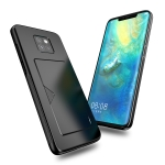 DUX DUCIS Pocard Series TPU + PC + PU Leather Protective Case for Huawei Mate 20 Pro, with Card Slot (Black)