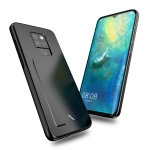 DUX DUCIS Pocard Series TPU + PC + PU Leather Protective Case for Huawei Mate 20, with Card Slot(Black)