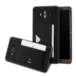 DUX DUCIS Pocard Series TPU + PU Leather Protective Case for Huawei Mate 10, with Card Slot (Black)