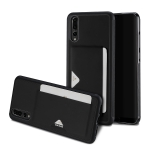 DUX DUCIS Pocard Series TPU + PU Leather Protective Case for Huawei P20 Pro, with Card Slot (Black)