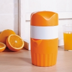 D533 Household ABS Manual Juice Cup Squeezer Fruit Reamers (Orange)