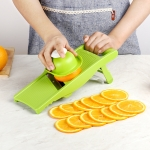 C320 Multifunctional Household Kitchen Vegetables Cutter Potato Grater (Green)
