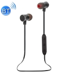 X3S Bluetooth 5.0 Wireless Magnetic Absorption Sweatproof Sports Bluetooth In-Ear Headset (Black)