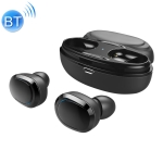 T12 Stereo TWS Wireless Binaural Bluetooth Earphone(Black)