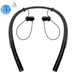 Q14 Hanging Neck Sports Wireless In-ear Bluetooth Earphone(Black)