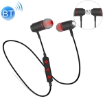 BT740 Stereo Magnetic Neck-mounted Wireless 4.0 Bluetooth Sports Earphone(Black)