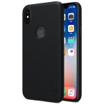 NILLKIN Frosted Concave-convex Texture PC Case for iPhone XS / X (Black)