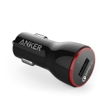 ANKER PowerDrive+ 1 24W QC 3.0 USB Car Charger Fast Charging(Black)