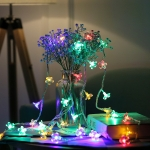 3m 20 LEDs Cherry Blossom  Holiday Decorative Light, Battery Powered (Colorful Light)
