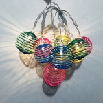 USB Type 10 Bulbs Easter LED Colour Spring Lamp String Holiday Party Household Decorative Light