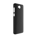 Litchi Texture Transparent PC Shockproof Protective Case for CUBOT A5(Black)