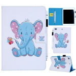 Dumbo Pattern Horizontal Flip Leather Case for iPad mini 4 & 3 & 2 & 1, with Holder & Card Slot & Wallet