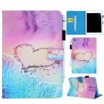 Heart Pattern Horizontal Flip Leather Case for iPad mini 4 & 3 & 2 & 1, with Holder & Card Slot & Wallet