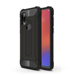Magic Armor TPU + PC Combination Case for Motorola P40 (Black)